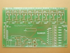 8 Relays - Blank PCB
