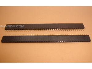 40x1 Female Header Strip