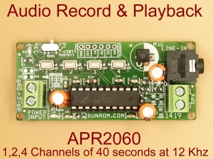 Audio Record & Playback - APR2060