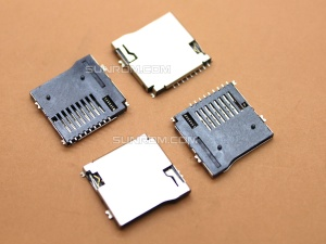 Micro SD Memory Card Socket