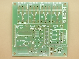 4 Relays - Blank PCB