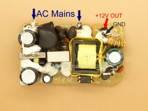 12V 1A SMPS Circuit