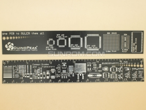 PCB Ruler for Quick SMD Footprint & Dimensions Query