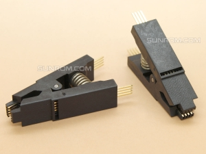 Test Clip for SOIC8 Pitch 1.27mm Narrow body
