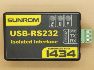 USB - RS232 Isolated Converter Industrial Grade