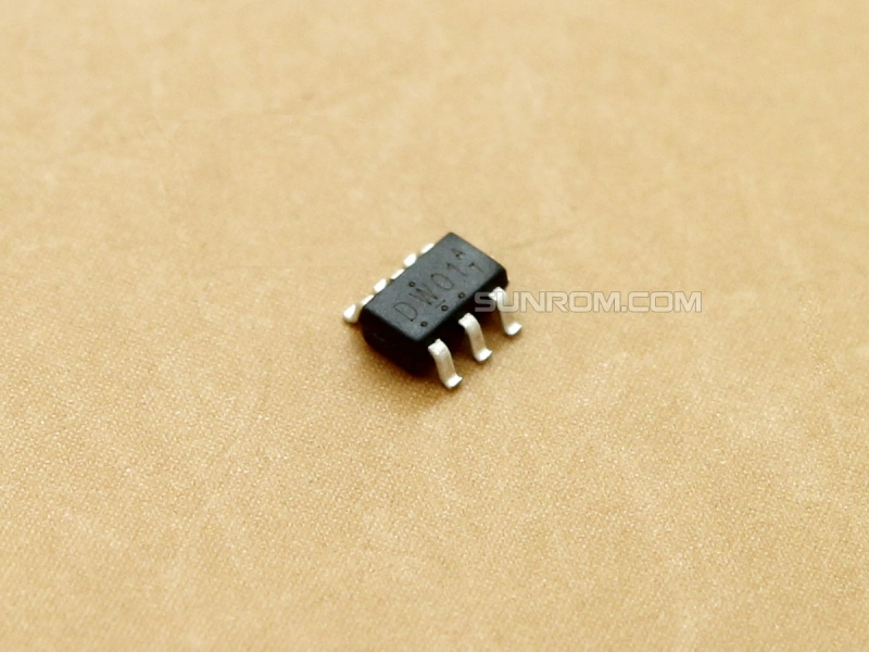 DW01A - SOT23-6 - Lithum Battery protection IC