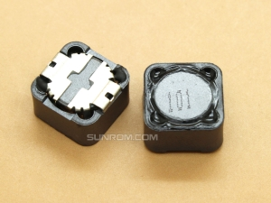 100uH (101) SMD 12mm Inductor