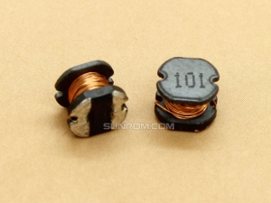 100uH (101) SMD 5mm Inductor