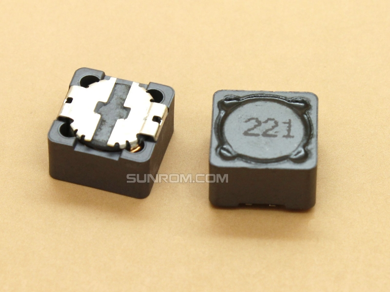 220uH (221) SMD 12mm Inductor