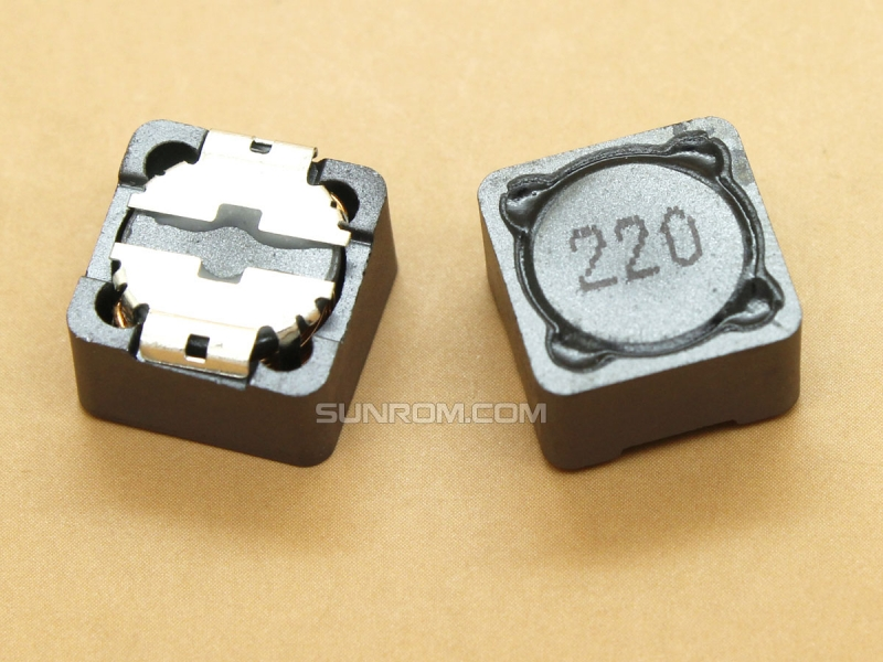 22uH (220) SMD 12mm Inductor