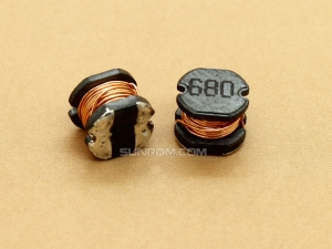 68uH (680) SMD 5mm Inductor