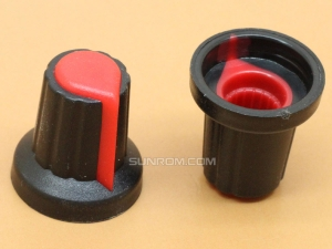 Red Knob for 6MM Shaft Encoders & Pots