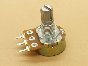 10K (103) L=15mm Rotary Potentiometer (Volume Control)