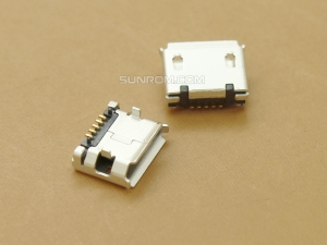 MicroUSB Connector Pitch 5.9mm
