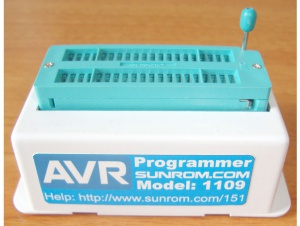 AVR ISP MKII - USB Programmer with ZIF