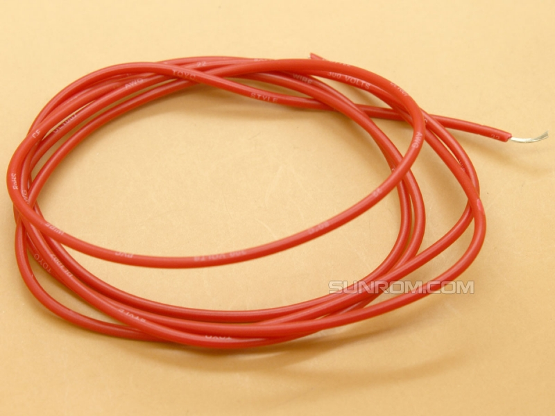 Red Wire 14/38 SWG/Meter