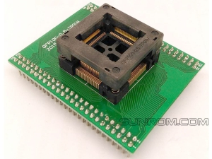QFP100 TQFP100 FQFP100 - 0.5mm - Body 14x14mm (16x16mm with Pins) - ZIF Socket