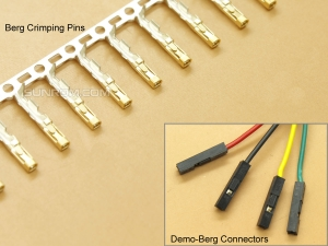 Crimping Pins for Berg 2.54mm