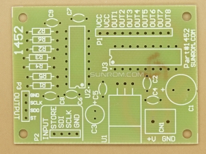PCB for Output Driver Board - Expandable