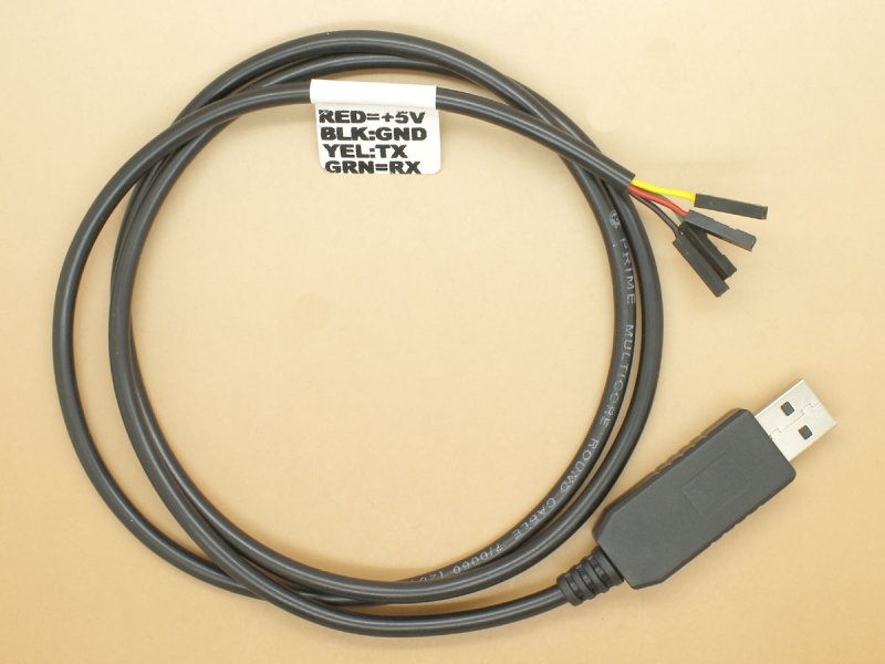USB to TTL UART Cable - FTDI FT230X
