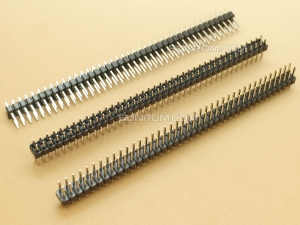 40x2 Header Strip 40 pins Male - Dual Row - Straight - 2.54mm Pitch