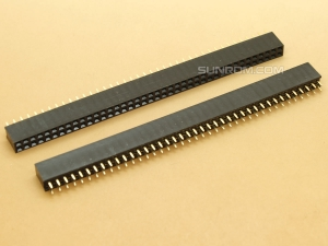 40x2 Header Strip 40 pins Female - Dual Row - Straight - 2.54mm Pitch