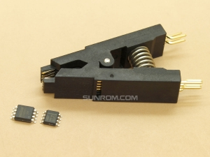 Universal Test Clip for SOIC8 1.27mm both Narrow & Wide Body