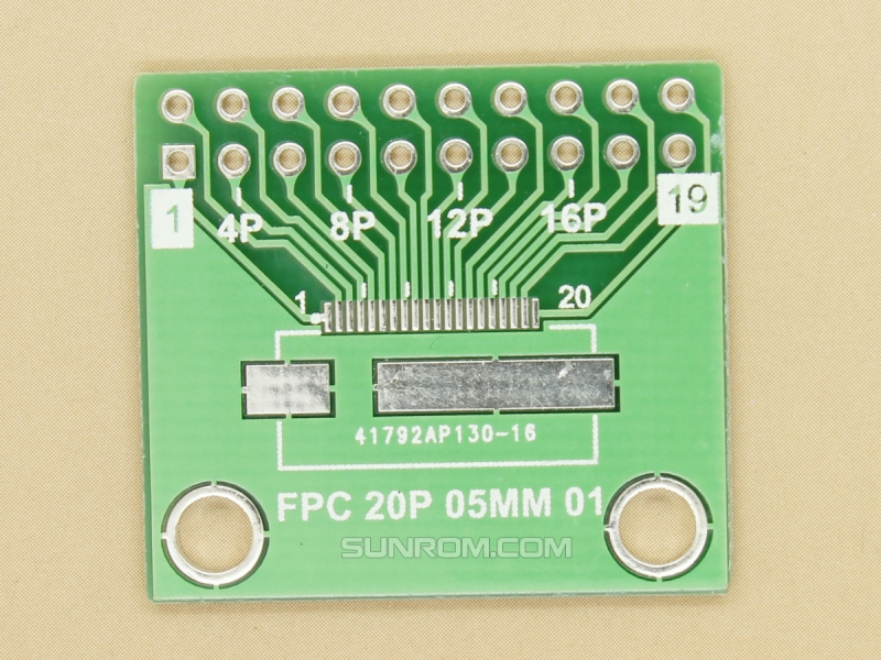 FPC FFC 20p 18p 16p 14p 12p 0.5mm SMD Adapter PCB