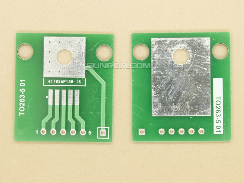 TO263-5 SMD Adapter PCB