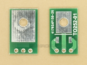 TO252 SMD Adapter PCB