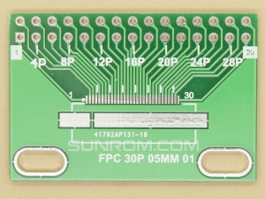 FPC FFC 30p 28p 26p 24p 22p 0.5mm SMD Adapter PCB
