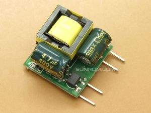 AC-DC Isolated Power Module 220V to 12V@0.41A 5W SMPS Vertical Mounting