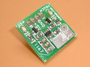 Touch Sensor - Capacitive
