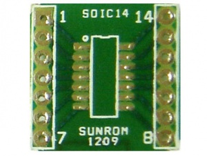 SOIC14 - 1.27mm Adapter PCB