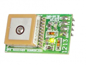 GPS Receiver - TTL UART - Patch Antenna on Top