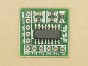 MCU UART Switch for Dual Serial Port Applications