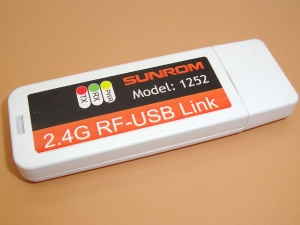 USB RF Serial Data Link 2.4 Ghz