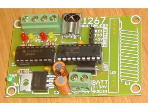 IR Remote for Robot 2x DC Motors