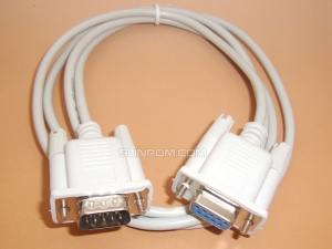 Serial Cable - 9 Core Male to Female