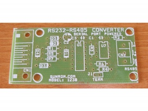 PCB for RS485 to RS232 Convertor