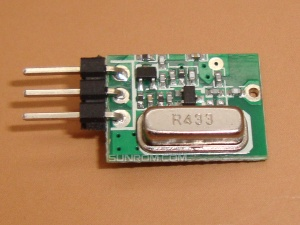 RF Transmitter 433MHz ASK 500mW@12V