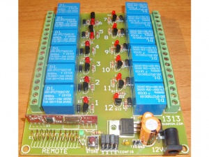 RF Remote Control Relays - 12 Channels