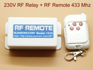 RF Remote - 220V Operated Relay