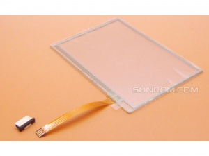 Touch Screen, 3.4 inch, 4-Wire Resistive