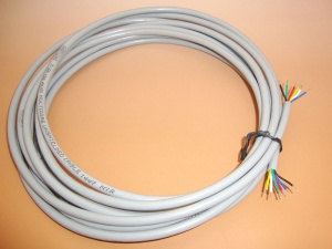 6 Core Cable, 5 Meters per quantity