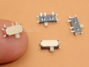 Slide Switch - SMD - 1P2T - 7 pins
