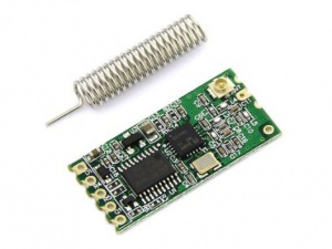 RF Serial Data Link UART, 433 Mhz, 100 Mts