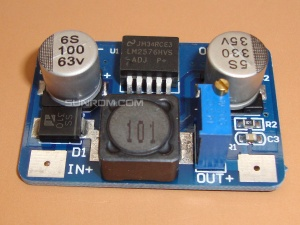 High Voltage Input DC-DC Step Down Switching Regulator based on LM2576HV