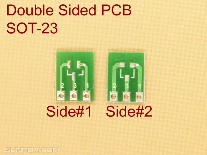 SOT23 SMD Adapter PCB
