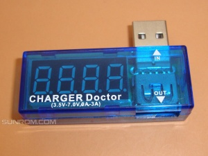 USB Voltage/Current Display